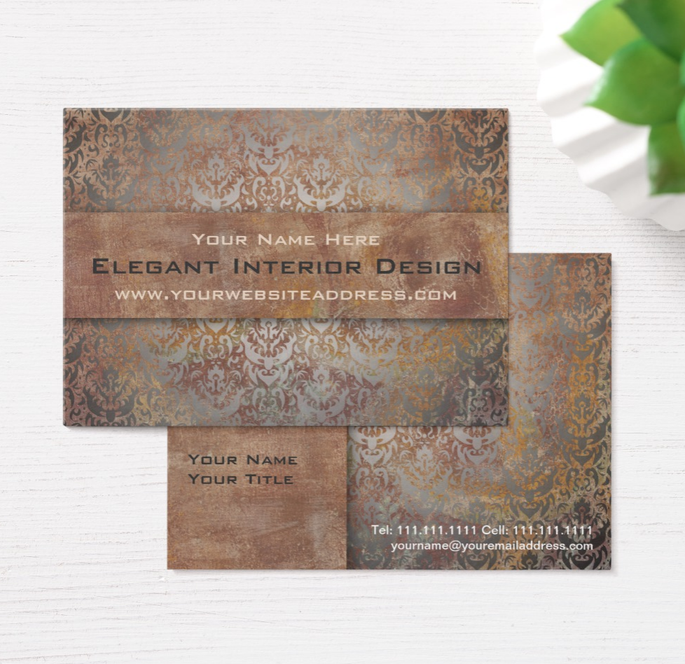 Corporate Chic Tuscany Business Cards Vintage Italian Style ...