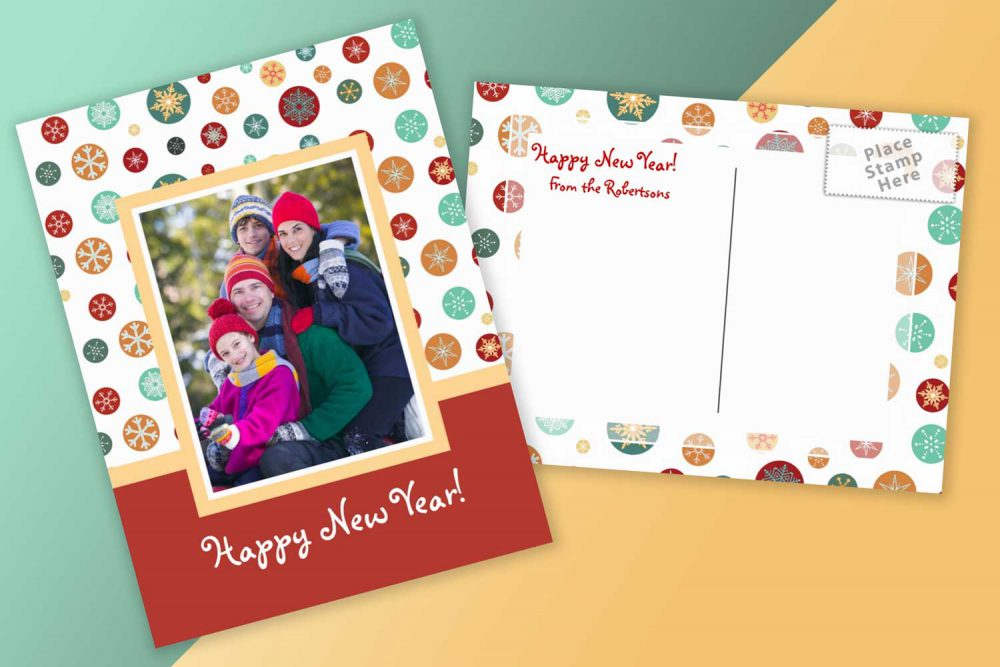 christmas cards to add your own photo