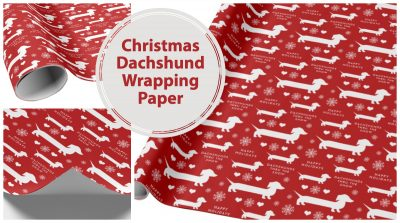 Dachshund Christmas Gifts & Wrapping Paper