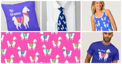 No Prob Llama!  Great Gifts for Llama and Alpaca Lovers