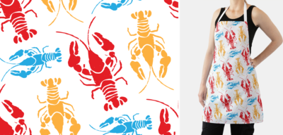 New England Lobster – Aprons, Tablecloths, Napkins and Gifts